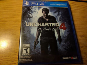 New Uncharted 4