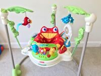 Fisher-Price Rainforest Jumperoo (with box)