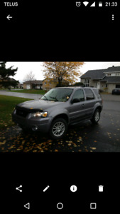 Ford escape 2007 limmited