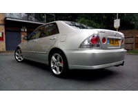 Silver Lexus IS200 2.0 Manual, Sunroof, Alloys, LOW MILAGE, px