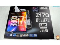 Motherboard and CPU - Asus Z170-A LGA1151 / CPU i7 6700K L@@@K BARGAIN