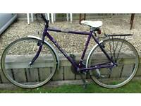 Traditional Raleigh Classic Pioneer Touring Bike. 15 gears in vgc.