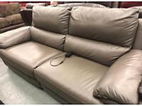 New 3 seater electric reclining sofa
