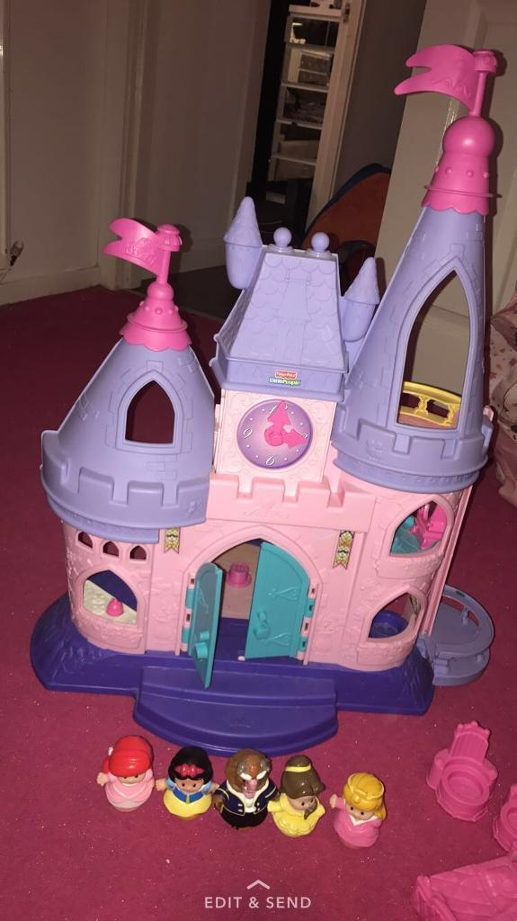 Little people princess castlefiguresin Bishopbriggs, GlasgowGumtree - Little people castle / furniture & figures for sale my daughter hardly played with this