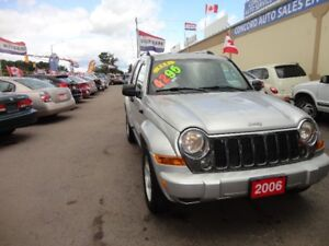 2006 Jeep Liberty Limited SUV, Crossover E-TESTED & CERT