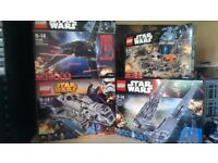 Lego Star Wars Bundle NO MINI FIGS