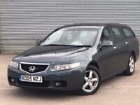 2005 HONDA ACCORD EXECUTIVE, 2.2 DIESEL, ESTATE WITH FULL MAIN DEALER SERVICE HISTORY