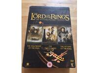 Lord Of The Rings DVD Boxset