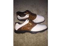 Stylish FootJoy AQL Men's Golf Shoes - Size 10 UK / 44.5 EUR / 11 USA