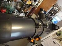 Celstron Astro Master 114 telescope with tripod etc
