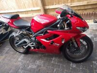 2011 Triumph Daytona 675 Only 6,800 Miles Full Service History Arrow Exhaust Excellent Condition