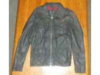Leather SUPERDRY Brad Jacket