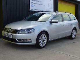2013 (63) Volkswagen Passat 2.0 TDi Highline Est Diesel £30 road tax *Sat Nav*