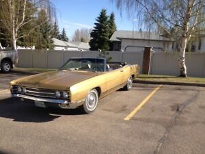 1969 Ford Galaxie 500 Convertible - 28,900 original miles
