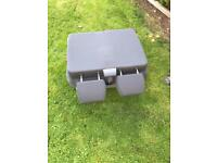 Volkswagen transporter double front seat folding and reclining