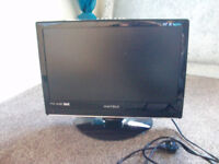 """Matsui 22"""" lcd tv dvd freeview"""