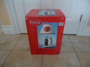 Coca Cola - Coke Polar Bear Lamp - Mint in Unopened Box.