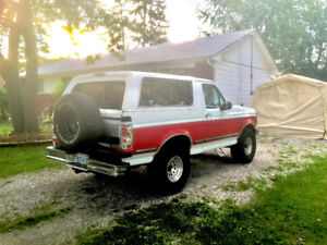 RARE Ford Bronco XLT Pickup Truck - NO RUST