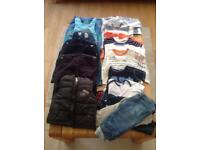 Baby boy clothes bundle, 9 to 12 months