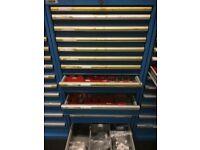Dexion Parts Cabinet 13 draw