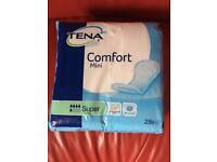 Tena comfort mini for sale !