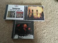 3 Soundgarden cd's