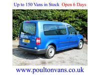 2014 (14) VOLKSWAGEN CADDY C20 MAXI LWB 5 SEAT CREW VAN 102BHP, Small