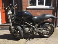 Ducati M600 Monster Motorbike Salvage Spares or Repair 2001