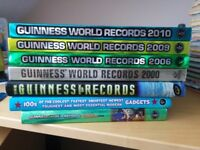 Guinness Book of Records 1999, '00, '06, '09, '10, Gamers '08, +1 book