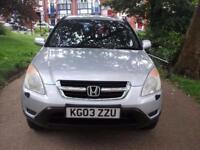 HONDA CR-V 2.0 i-VTEC SE Sport [Sat Nav] 5dr (silver) 2003