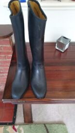 Girls size 3 Harry Hall Waterproof Riding Boots