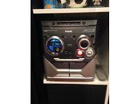 Philips hi-fi 3cd changer