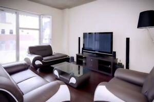 SHORT TERM 8 MONTHS! LUXURY CONDO DOWNTOWN MONTREAL