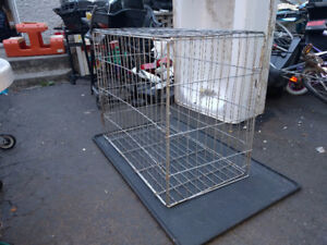Petite cage pour animaux usagee 50$ / Small used animal cage 50$