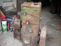 lister stationary engine