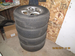 GM rims with Cooper tire