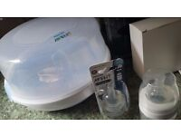 Avent Microwave Steriliser and Accessories NEW