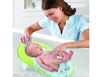 comfy Summer Infant Baby Bath Support Sling Fold Tub Seat Portable Travel child kid Foldable Compact