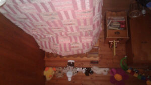 Twin bed set $200 obo