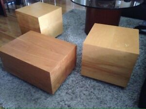 Vintage 1970's Cube Tables