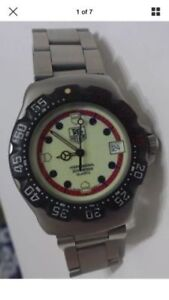 Tag heuer F1 watch