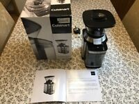 Coffee Grinder / Cuisinart Supreme Grind™ Automatic Burr Mill