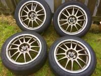 """X cross speed 17"""" alloy wheels 5 stud"""