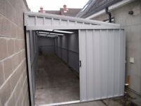 narrow sheds - side entry sheds - we build to suit your space