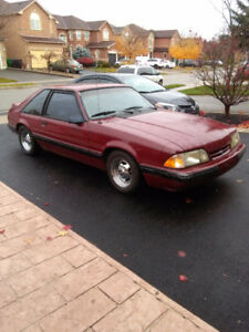 1989 lx mustang frame Clean run and drive