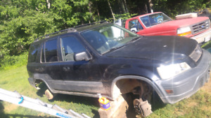 Parting out 99CRV with B20z2!