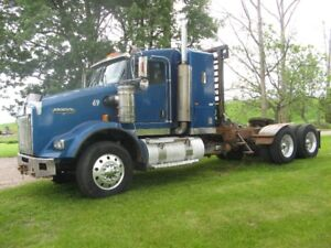 2006 Kenworth T800    HEAVY AXLES   WET LINE