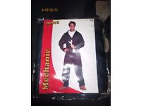 MECHANIC / DANNY FROM GREASE FANCY DRESS OUTFIT SIZE M /L PARTY OR STAG DO