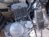 HYOSUNG GT125R ENGINE FOR SPARES
