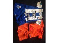 2 x football kits 18-24 months